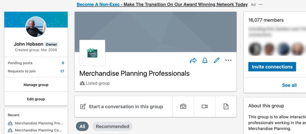 Merchandise Planning Professionals